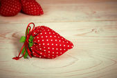 Phony red strawberry — Stock Photo