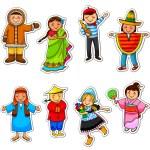 Cultural diversity — Stock Vector #13870604