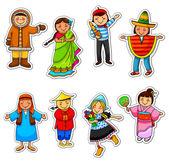 Diversidade cultural — Vetorial Stock