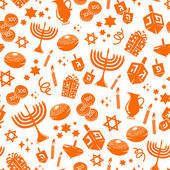 Hannukah pattern — Vector de stock
