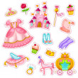 Stock Vector: Princess collection