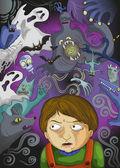 Imaginäre monster — Stockvektor