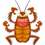 Cartoon cockroach — Stock Vector #26850055