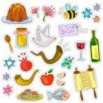 Rosh Hashana symboler — Stockvektor  #27901803