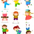 Kids collection — Vector de stock
