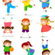 Kids collection — Vector de stock #28173053