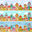 Houses pattern — Stock Vector #35119949