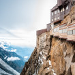 View of the Alps from Aiguille du Midi mountain. — Stockfoto