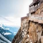 Blick auf die Alpen vom Aiguille du Midi mountain — Stockfoto