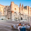 Foto Stock: Avignon pope palace, France.