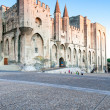 Avignon pope palace, France. — Stock Photo