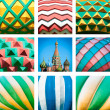 Stock Photo: St. Basil Cathedral. Red Square in Moscow, Russia.