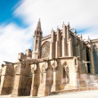 Gothic church in ancient city of Carcassonne. — Stock Photo