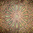 Foto Stock: Ceiling in beautiful arabic style as background.
