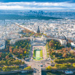 View of Paris from the Eiffel tower. — Stock Photo #12725991
