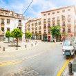 Calm summer day in street of Granada, Spain. — Foto Stock