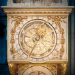 Old golden clock in Lyon, France. — Stock Photo