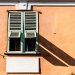 Stock Photo: Old window in Nice city, France.