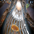 Royalty-Free Stock Photo: Sagrada Familia of Barcelona in Spain, Europe.
