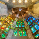 Sagrada Familia of Barcelona in Spain, Europe. — Stock Photo