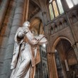 Statue in Saint Denis Basilica. - Stock Photo