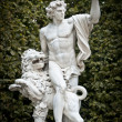 Sculpture in garden of Versailles. — Stock Photo