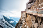 View of the Alps from Aiguille du Midi mountain. — Photo