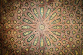 Ceiling in beautiful arabic style as background. — Stock Photo