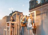 Okno oblečení shop. — Stock fotografie