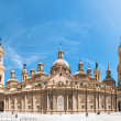 Basilica of Our Lady of Pillar in Spain, Europe. — Stock Photo #14753701
