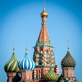 St. Basil Cathedral, Moscow, Russia. — Stock Photo