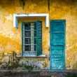 Old and worn house on street in Vietnam. — Stock Photo #22223509