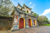 Beautiful gate to Citadel of Hue in Vietnam, Asia. — Stock Photo