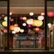 Hotel reception with lanterns in Vietnam, Asia. — Stockfoto #22488513