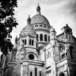 Stockfoto: Basilicof Sacred Heart of Paris.