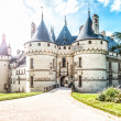 Scenic view of castle in France, Europe. — Stock Photo