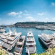 Stock Photo: Panoramof Monaco seport.