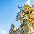 Dragon statue in Vietnam as symbol and myth. - Stock Photo