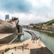 View of Guggenheim Museum in Bilbao, Spain, Europe. — Stock Photo #25748087