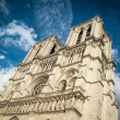 View of Notre Dame de Paris. — Stock fotografie