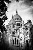 базилика святого сердца парижа. — Стоковое фото