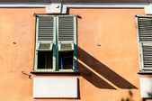 Old window in Nice city, France. — Stock Photo