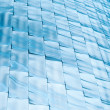 Background of blue blocks — Stock Photo #45068841