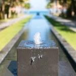 Small decorative fountain — Stock Photo #45069221
