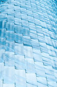 Background of blue blocks — Foto Stock