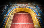 Closed citadel gates to Hue — Stock Photo