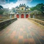 Beautiful gate to Citadel of Hue — Stock Photo