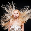 Photo of beautiful woman with magnificent hair — Stock Photo #22314709