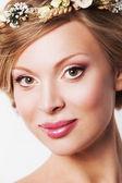 Glamour portrait of beautiful woman model. — Stock Photo
