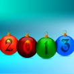 Ilustración de feliz año nuevo — Vector de stock